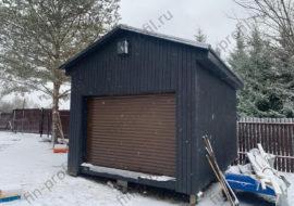 Фотоотчет гаража 3х4